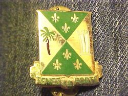 Us 759th Military Police Battalion Dui Di Pin Clutchback Crest Medal Badge G544