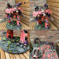 Warhammer 40k Forgeworld Imperial Warlord Titan PRO Painted to Order