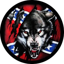 Rebel Wolf 1 Spare Tire Cover Any Size Any Vehicletrailercamperrv