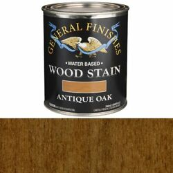 General Finishes Water Based Wood Antique Oak Stain Quart