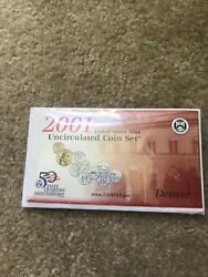 2001 P And D Us Mint Uncirculated Coin Set
