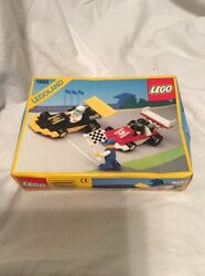 Nisb Lego 1665 Dual Fx Racers 1990 Vintage Super Rare New In Factory Sealed Box