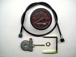 Set Facosma Odometer Rope Drive For Pande Oxford Motorcycle Years 70/80/90