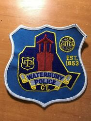 Patch Police Waterbury Connecticut Ct State