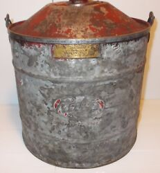 Antique Vintage 2 1/2 Gal. Peerless Safety Gas Can 1914