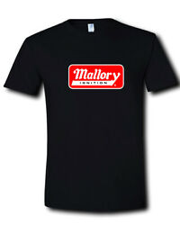 Mallory Ignition Logo Holley Performance Products Coils Black T-Shirt S M L- 2XL