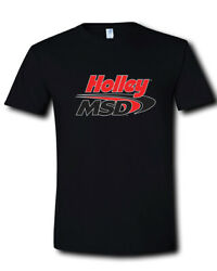 Holley MSD Performance Products Logo Ignition Box Coils Black T-Shirt S M L- 2XL