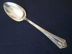 Soup Or Place Spoon Vintage Wm. Rogers Silverplate Fair Oak Pattern Lovely