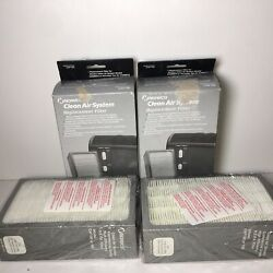 Norelco Clean Air HEPA Filter System Replacement Filter CAF190 NEW SEALED box(2)