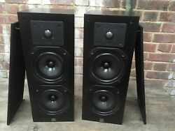 Vintage Monitor 11 Monitor Audio Speakers 8 Ohms 100w 88db 2 Cone Midwoofers