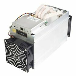 Antminer L3+ 504MHs Miner 800W On Wall Scrypt Miner Overheat Protection