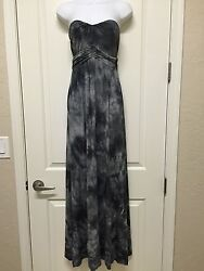 Nwt Young Fabulous And Broke Emese Maxi Long Dress S Small Strapless Make An Offer