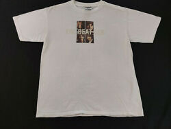 Vintage 1995 The Beatles White Album Double Sided Graphic Tshirt Size L