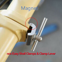Nov Easy Shell Clamps And Clamp Lever/ Light Weight, Nov Clamp, Lever For Brompton