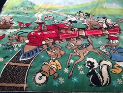 Home Kids/children Toy Room Decor Disney Mickey Mouse Rug Large 5 Ft.x 4 Ft.