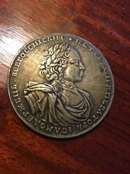 1722 Peter The Great One Russian Roubel