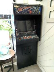 Atari Asteroids Deluxe Coin-op Video Arcade Game Machine Rare With Subwoofer