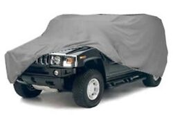 Hummer Waterproof Cover For H3 W/ Spare Tire Three Layer