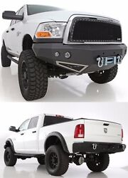Smittybilt Front And Rear D-ring Bumpers And Led Lights For 2010-2012 Dodge Ram 2500