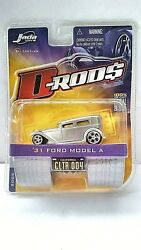 Jada Toys D Rods Series '31 Ford Model A Silver 1/64 California Cltr 004