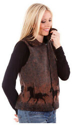New Sunrise Horses Ladies Cinchback Berber Vest