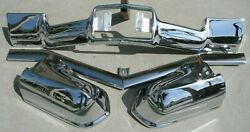 X Cadillac New Triple Plated Chrome Front Bumper 1967 67 Only Oem