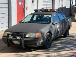 Robocop OCP Police Car Replica 1986 Ford Taurus LX - Signed by Peter Weller