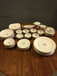 Paden City Pottery Complete Set For 8 - Total Pieces 59