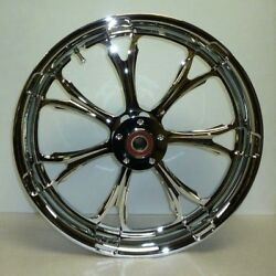 Pm Paramount Chrome Front 18x3.5and039and039 Abs 08-13 Touring 1204-7806r-par-ch