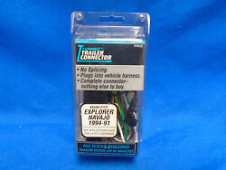 Nos T-connect Trailer Connector Fits Ford Explorer Mazda Navajo 1991-1994