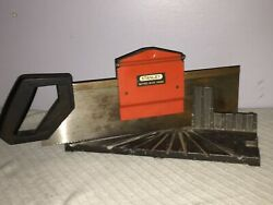 Stanley Mitre Box Hii4a Mitering Attachment Back Hand Saw Made In The Usa