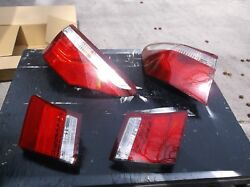 2007- 2009 LEXUS LS460 COMPLETE 4-PIECE TAIL LIGHT LAMP ASSEMBLY PERFECT  OEM