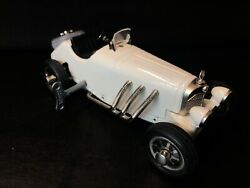 Schuco Ssk/l Studio V Mercedes-benz Made In Germany White Wind Up With Key