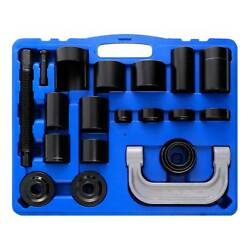 21 Pcs Auto Repair Service Removal Ball Joint Service Tooland Master Adapter Kit