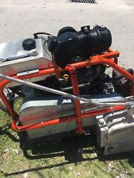 husqvarna Softcut 4000 Powered By Kohler Gasoline 20.5 HP Engine And Propane Gas