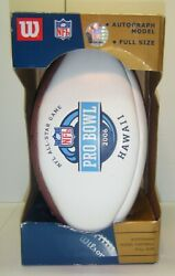 Autograph Model Full Size Football Nfl-all Star Game, Pro Bowl Game 2006