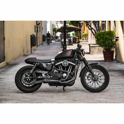 Two Brothers Black W/ Carbon 2-into-1 Comp-s Exhaust 2014-2019 Harley Sportster