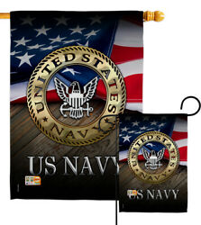 Us Navy Garden Flag Usn Armed Forces Seabee Armed Forces Military Veteran Banner