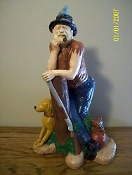 OZARK HUNTER ONE OF A KIND -HAND PAINTED BY ME  xmas sale = $5 off