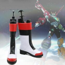 Voltron: Legendary Defender Keith PU boots shoes cosplay costume custom-made