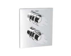 Grohe 19304 Allure Chrome Integrated Thermostatic Shower Valve Trim Kit