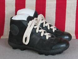 Vintage Dunlop Canvas Rugby Boots Cleats Soccer/football Shoes Sz.uk 37/ Us 4