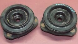 01 02 03 04 Ford Focus 2x Front Top Strut Mounting Cushion Set Oem