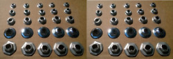 50 New Emblem/trim Retainers 1950-70and039s Ford Mustang Thunderbird Bronco Mercury