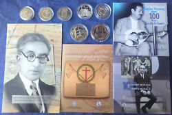 Commemorative €5 Euro/ecu Coins, Cu-ni And Silver, Bu And Proof, Various Countries