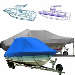 Marine T Top Boat Cover Fits A 31'6 Boat With A 120 Beam Width.