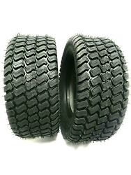 Set Two - 16x6.50-8 Turf Style 4 Ply Rated Heavy Duty 16x6.50-8 Nhs