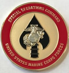 Ussocom Marine Corps Special Operations Command Marsoc Raiders Challenge Coin