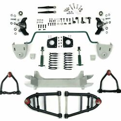 Mustang Ii 2 Ifs Front End Kit For 48 And Earlier Desoto W Shock Springs Swaybar
