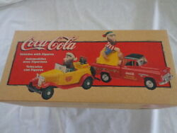 Ertl Coca Cola 1/43 North Pole Bottling Works Chevy Pickup And Ford Roadster